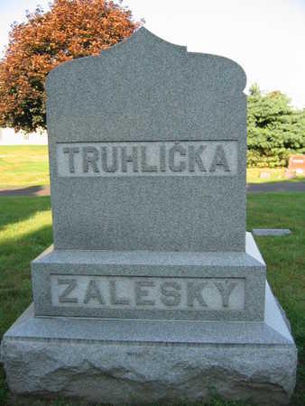 TRUHLICKA ZALESKY, FAMILY - Linn County, Iowa | FAMILY TRUHLICKA ZALESKY