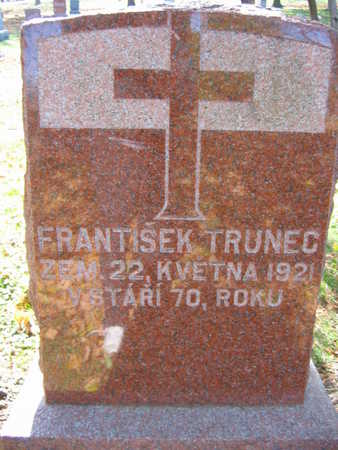 TRUNEC, FRANTISEK - Linn County, Iowa | FRANTISEK TRUNEC