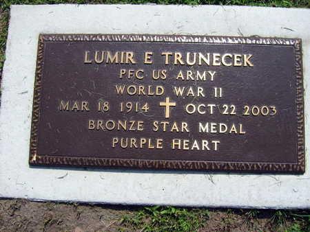 TRUNECEK, LUMIR E. - Linn County, Iowa | LUMIR E. TRUNECEK