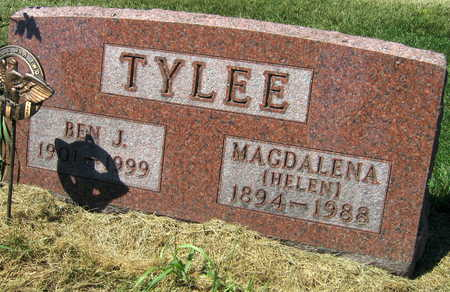 TYLEE, BEN J. - Linn County, Iowa | BEN J. TYLEE