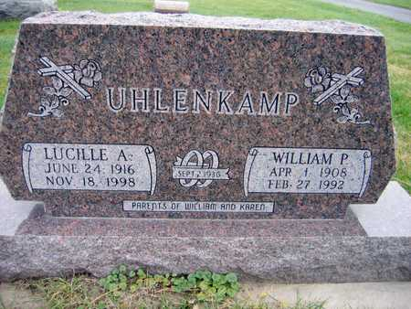 UHLENKAMP, WILLIAM P. - Linn County, Iowa | WILLIAM P. UHLENKAMP