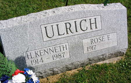 ULRICH, H. KENNETH - Linn County, Iowa | H. KENNETH ULRICH