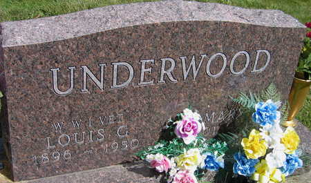 UNDERWOOD, MARY K. - Linn County, Iowa | MARY K. UNDERWOOD