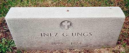 UNGS, INEZ G. - Linn County, Iowa | INEZ G. UNGS
