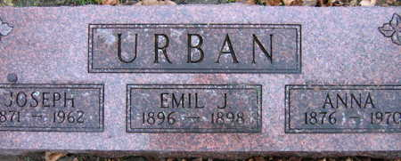 URBAN, EMIL J. - Linn County, Iowa | EMIL J. URBAN