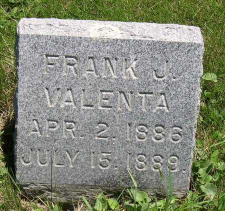 VALENTA, FRANK J. - Linn County, Iowa | FRANK J. VALENTA