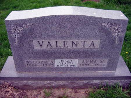 VALENTA, VLASTA - Linn County, Iowa | VLASTA VALENTA