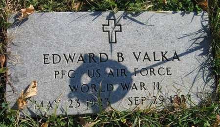 VALKA, EDWARD B. - Linn County, Iowa | EDWARD B. VALKA