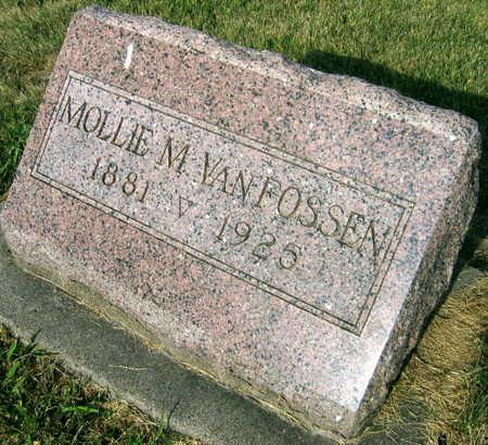VAN FOSSEN, MOLLIE M. - Linn County, Iowa | MOLLIE M. VAN FOSSEN