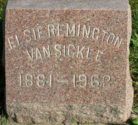 REMINGTON VAN SICKLE, ELSIE - Linn County, Iowa | ELSIE REMINGTON VAN SICKLE