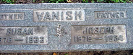 VANISH, JOSEPH - Linn County, Iowa | JOSEPH VANISH