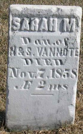 VANNOTE, SARAH M. - Linn County, Iowa | SARAH M. VANNOTE