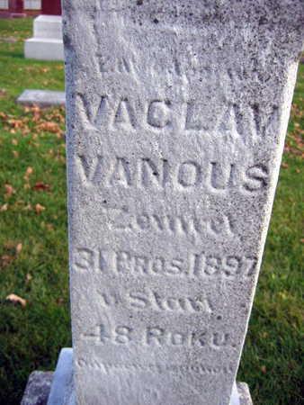 VANOUS, VACLAV - Linn County, Iowa | VACLAV VANOUS