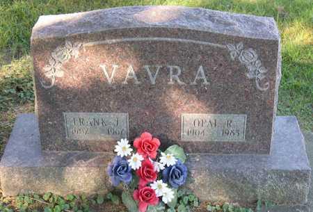 VAVRA, FRANK J. - Linn County, Iowa | FRANK J. VAVRA