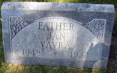 VAVRA, JAN - Linn County, Iowa | JAN VAVRA