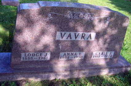 VAVRA, CYRIL J. - Linn County, Iowa | CYRIL J. VAVRA