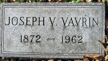 VAVRIN, JOSEPH V. - Linn County, Iowa | JOSEPH V. VAVRIN