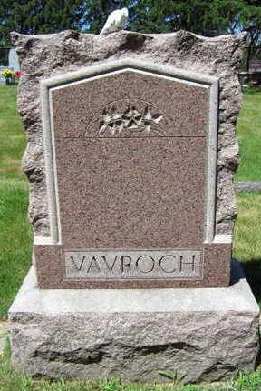 VAVROCH, FAMILY STONE - Linn County, Iowa | FAMILY STONE VAVROCH