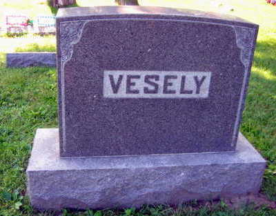 VESELY, FAMILY STONE - Linn County, Iowa | FAMILY STONE VESELY