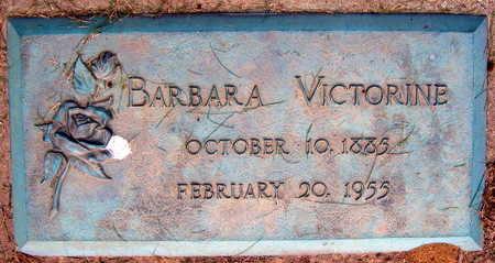 VICTORINE, BARBARA - Linn County, Iowa | BARBARA VICTORINE