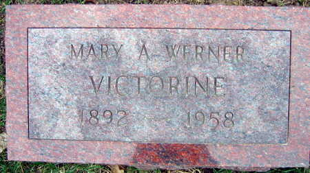 VICTORINE, MARY A. - Linn County, Iowa | MARY A. VICTORINE