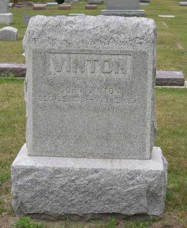 VINTON, JOHN - Linn County, Iowa | JOHN VINTON