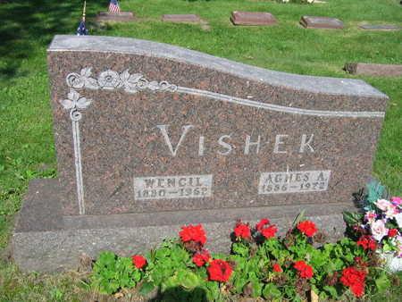 VISHEK, AGNES - Linn County, Iowa | AGNES VISHEK