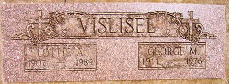 VISLISEL, LOTTIE A. - Linn County, Iowa | LOTTIE A. VISLISEL