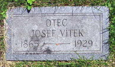 VITEK, JOSEF - Linn County, Iowa | JOSEF VITEK