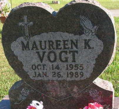 VOGT, MAUREEN K. - Linn County, Iowa | MAUREEN K. VOGT