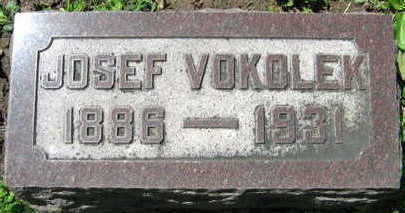 VOKOLEK, JOSEF - Linn County, Iowa | JOSEF VOKOLEK