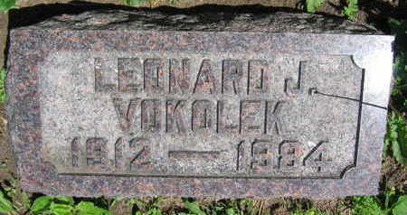 VOKOLEK, LEONARD J. - Linn County, Iowa | LEONARD J. VOKOLEK