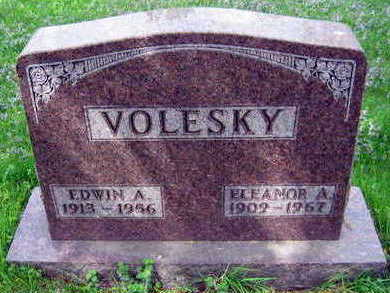 VOLESKY, ELEANOR A. - Linn County, Iowa | ELEANOR A. VOLESKY
