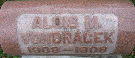 VONDRACEK, ALOIS M. - Linn County, Iowa | ALOIS M. VONDRACEK