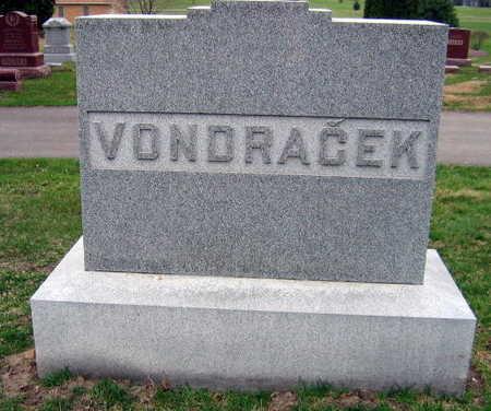 VONDRACEK, FAMILY STONE - Linn County, Iowa | FAMILY STONE VONDRACEK