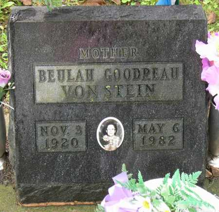 GOODREAU VONSTEIN, BEULAH - Linn County, Iowa | BEULAH GOODREAU VONSTEIN