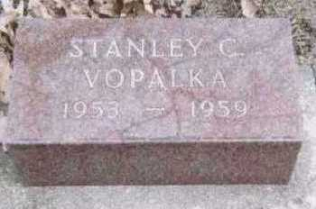 VOPALKA, STANLEY C. - Linn County, Iowa | STANLEY C. VOPALKA