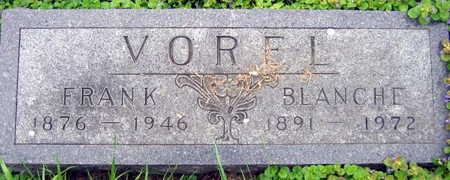 VOREL, FRANK - Linn County, Iowa | FRANK VOREL