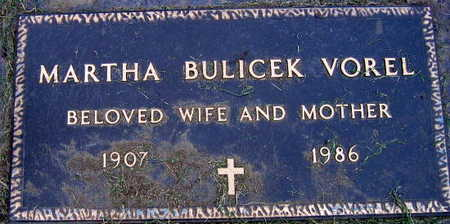 BULICEK VOREL, MARTHA - Linn County, Iowa | MARTHA BULICEK VOREL