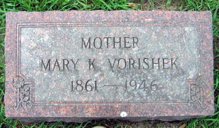 VORISHEK, MARY - Linn County, Iowa | MARY VORISHEK
