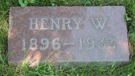 VORNHOLT, HENRY W. - Linn County, Iowa | HENRY W. VORNHOLT