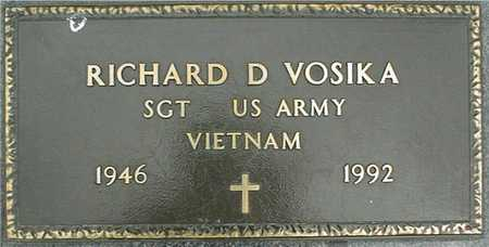 VOSIKA, RICHARD D. - Linn County, Iowa | RICHARD D. VOSIKA