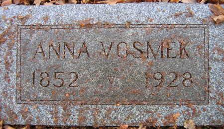 VOSMEK, ANNA - Linn County, Iowa | ANNA VOSMEK