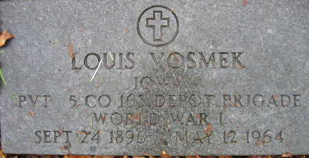 VOSMEK, LOUIS - Linn County, Iowa | LOUIS VOSMEK