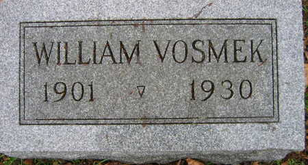 VOSMEK, WILLIAM - Linn County, Iowa | WILLIAM VOSMEK