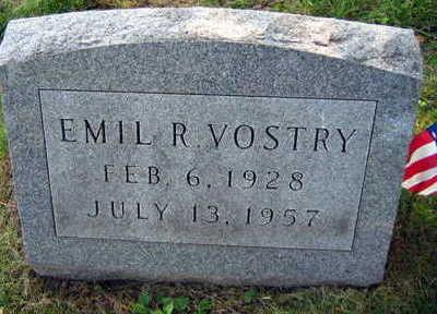 VOSTRY, EMIL R. - Linn County, Iowa | EMIL R. VOSTRY