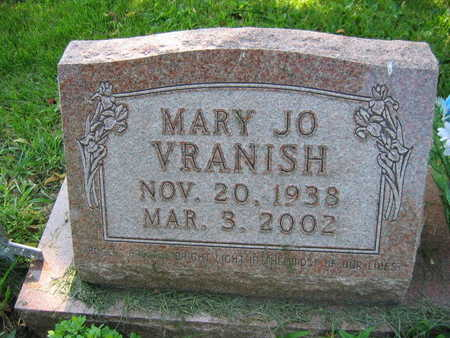 VRANISH, MARY JO - Linn County, Iowa | MARY JO VRANISH