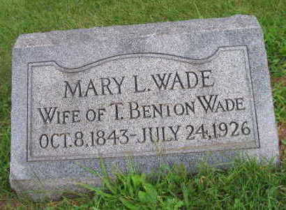 WADE, MARY L. - Linn County, Iowa | MARY L. WADE