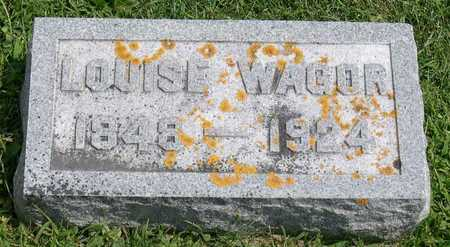 WAGOR, LOUISE - Linn County, Iowa | LOUISE WAGOR