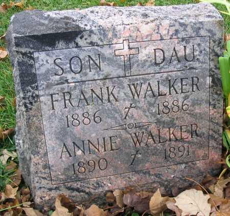 WALKER, ANNIE - Linn County, Iowa | ANNIE WALKER